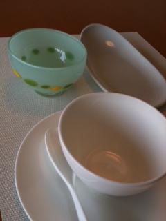 富山ガラス茶碗2