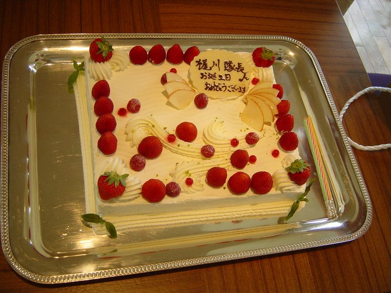 ウィンザー バースデイケーキ